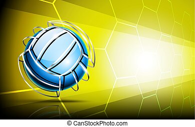 Image volleyball ball
