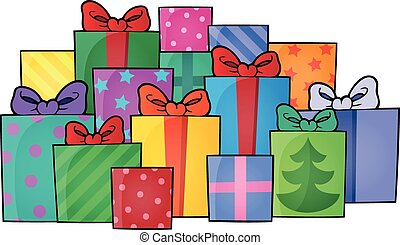 Image with gift theme 5