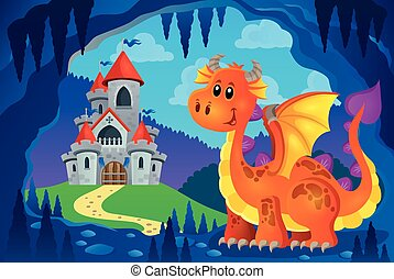 Image with happy dragon theme 6