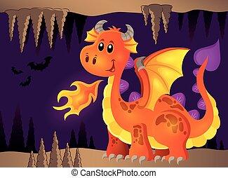 Image with happy dragon theme 8
