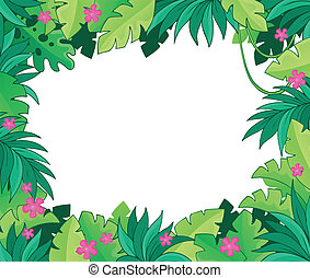 Image with jungle theme 1
