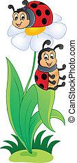 Image with ladybug theme 3