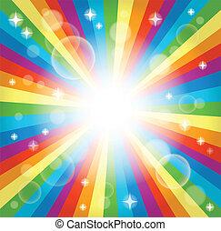 Image with rainbow theme 3