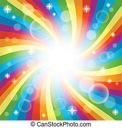 Image with rainbow theme 4