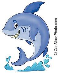 Image with shark theme 3