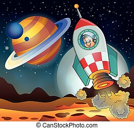 Image with space theme 3