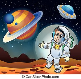 Image with space theme 7