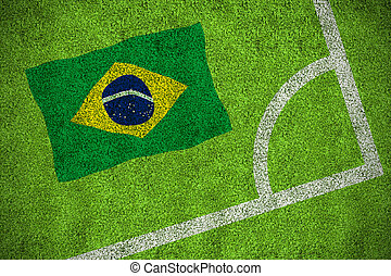 imagem composta, bandeira, brasil, nacional