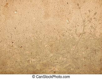 imagem, ou, texto, papel, texturas, espaço, antigas, ...