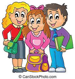 imagen, con, alumno, tema, 1