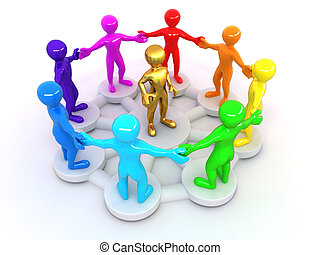 imagen conceptual, liderazgo