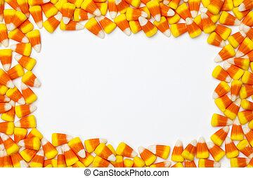 imagen, de, arreglado, dulce, maíz
