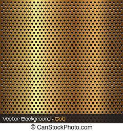 imagen, de, un, oro, plano de fondo, texture.