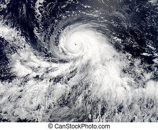 imagen, storm., elementos, esto, nasa, amueblado, tropical