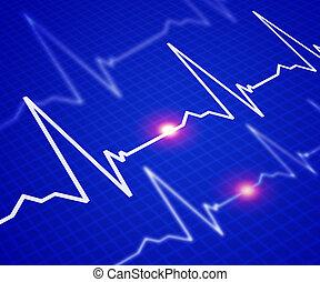 imagen, tasa corazón
