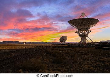 imagen, telescopios de radio