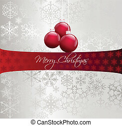 imagen, vector, navidad, ilustración, ball.