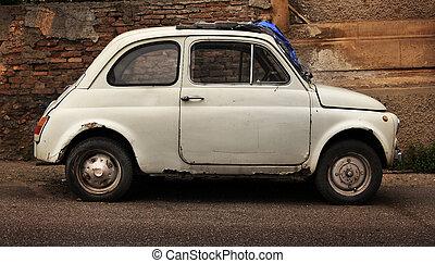 imagen, viejo, coche, cuba