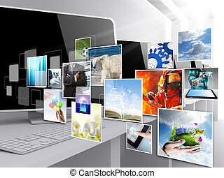 imagens, streaming, internet