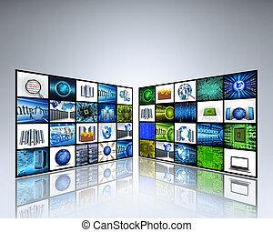 imagens, tecnologia