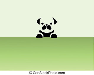 pug puppy  - Images design pug puppy - Illustrations,vector