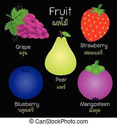 images, fruits., divers