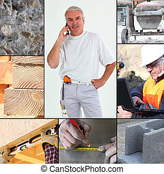 Images of a construction site
