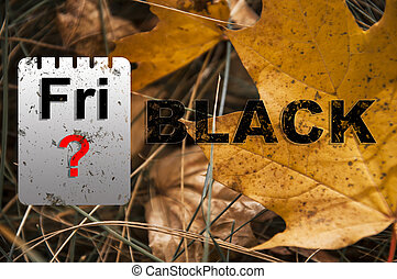 Images with text black friday. great advertising solution sales