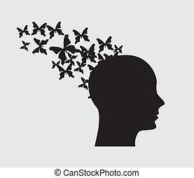 imaginação, voando