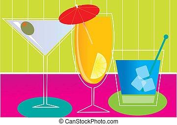 imaginación, bebidas