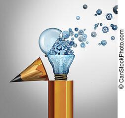 imaginación, planificación, éxito