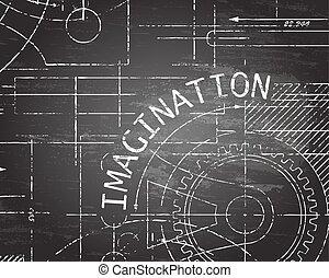 Imagination Blackboard Machine