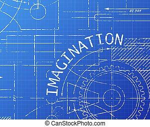 Imagination Blueprint Machine
