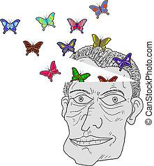 Imagination butterflies