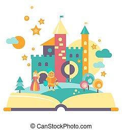 Imagination Concept, Open Book
