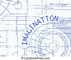 Imagination Graph Paper Machine