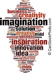 Imagination word cloud