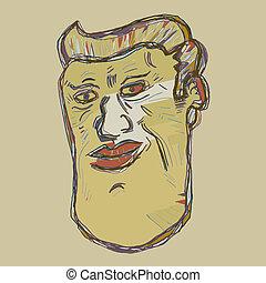Imaginative face
