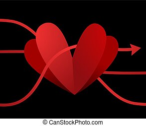 imaginative heart design - Creative design of imaginative...