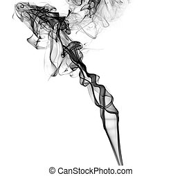 imaginative smoky abstract chaos