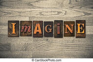 Imagine Wooden Letterpress Theme