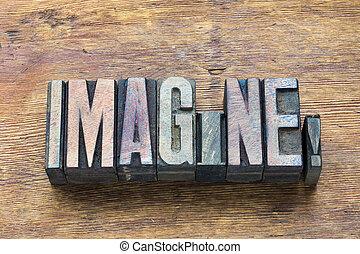 imagine word wood