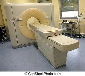 imaging, magnétique, scanner, résonance