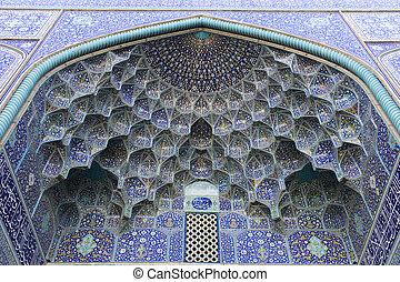 imam, mesquita, isfahan, irã