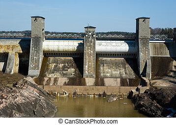 imatra, 駅, 水力発電の力