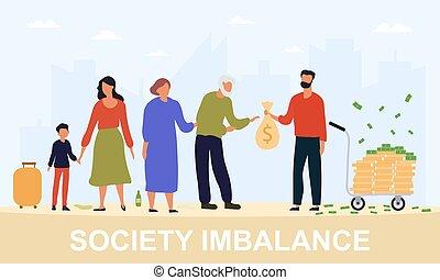 imbalance, pojęcie, społeczeństwo