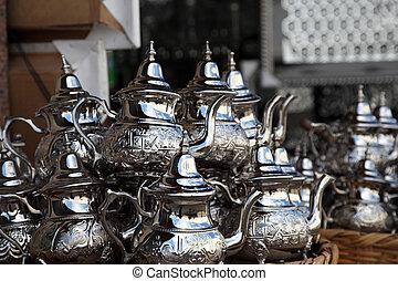 imbryki, sprzedaż, marokańczyk, tradycyjny, safian, rabat, medyna
