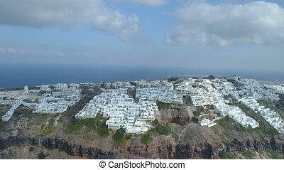 Imerovigli village on the island of Santorini