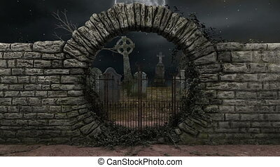 graveyard  - imgae of graveyard