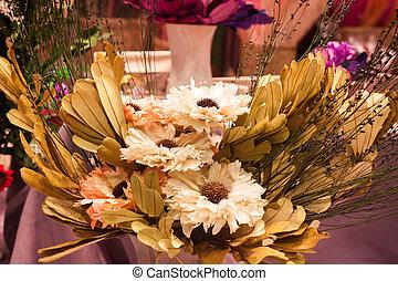 Imitation bouquet of beautiful flower